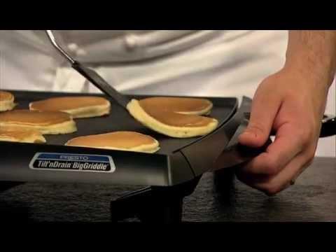 Presto Cool Touch BigGriddle Tilt 'N Drain Griddle