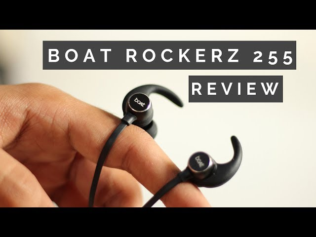 boAt Rockerz 255 Sports Bluetooth Wireless Earphone Unboxing & Review | TheMobileStuffs