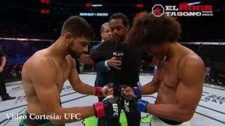 """UFC Fight Night 92: Lo mejor de Yair """"Pantera"""" Rodríguez vs Alex Caceres"""