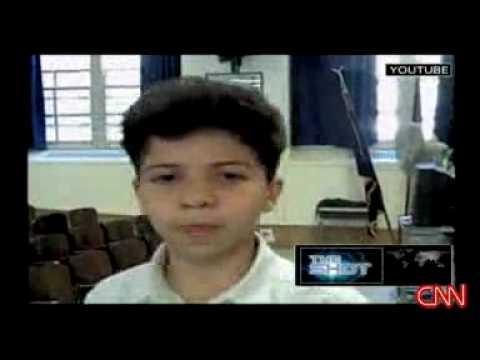 PS22 Chorus - Jared Sings on CNN!!