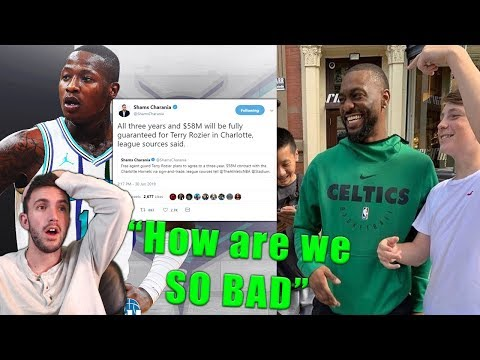 HORNETS FAN REACTS TO KEMBA LEAVING FOR THE CELTICS