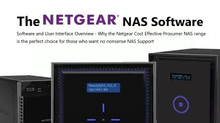 The ReadyNAS Software - What Can it do and What Can't it do?
