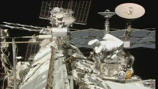 Astronauts Take 6.5 Hour Spacewalk