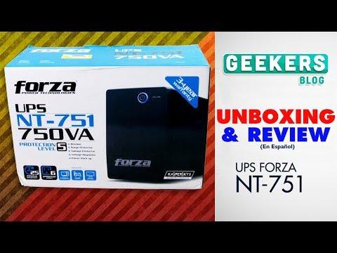 UPS Forza NT-751 ⚡️ | Unboxing y Review en Español
