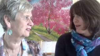 Sue interviews Kate on part of the program, her astrology reading