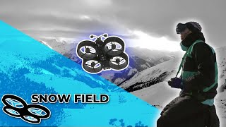 Snow Field FPV - Why to avoid flying without goggle antennas [TokiFpv]