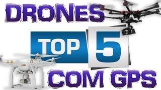 TOP-5 DRONES bons e BARATOS com GPS