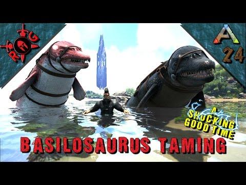 Ark - Thylacoleo Baby - Basilosaurus Tame ( Ark Survival