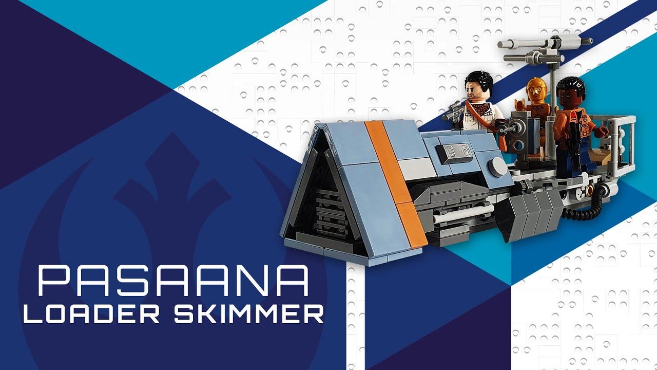 Lego Star Wars MOC - Pasaana Loader Skimmer [TUTORIAL]