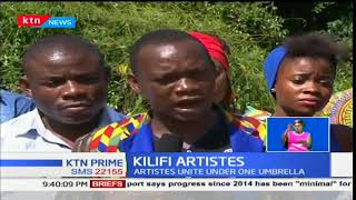 Actors, artists and musicians unite under one umbrella in Kilifi county to help in their bargains