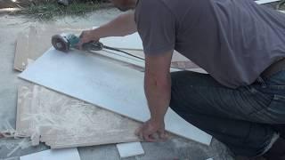 How to Cut a Large Format tile. Наипростейший способ отрезать плитку