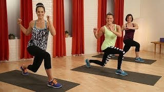 10-Minute Fat Burning Body Weight Workout | Class FitSugar by POPSUGAR Fitness