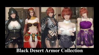 Skyrim Mods: Black Desert Armor Collection (The best of All Time)