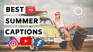 Instagram Summer Captions   Best Summer Captions For Social Media 😎
