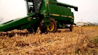 John Deere 9400 2wd in corn