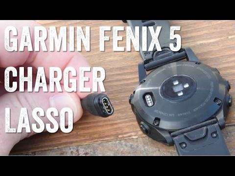Garmin Fenix 5 Charger: Making a lasso!