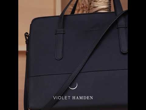 Violet Hamden Essential Bag blue shopper