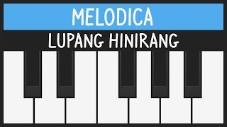 How to play Lupang Hinirang - Philippine National Anthem - Melodica Tutorial