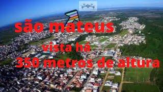 Imagem de são Mateus à 350 metros de altura com drone hubsan h501s