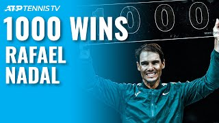 Rafael Nadal's 1000th ATP Tour Win: Highlights, Presentation & Interview