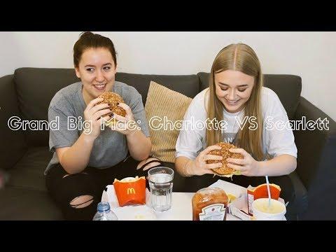 Grand Big Mac Challenge: Charlotte VS Scarlett