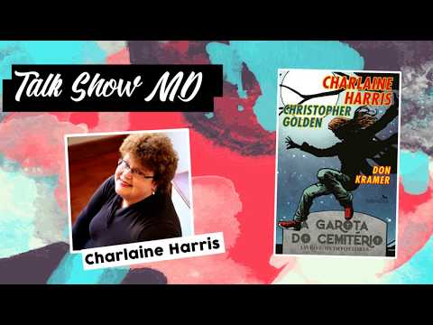 Charlaine Harris, autora de Garota do Cemitério, True Blood entre outros sucessos...