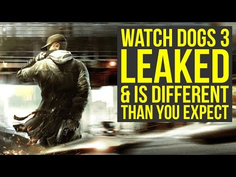 Watch Dogs 3 LEAKED A Head Of E3 2019 & It's Not What You Expect (Watch Dogs Legion E3 2019)
