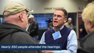 DEIS Public Hearings - Jan. 2019
