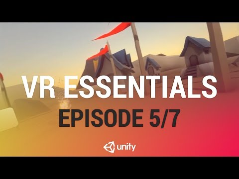 Displaying 360 Video In VR and Switching Views - Unity