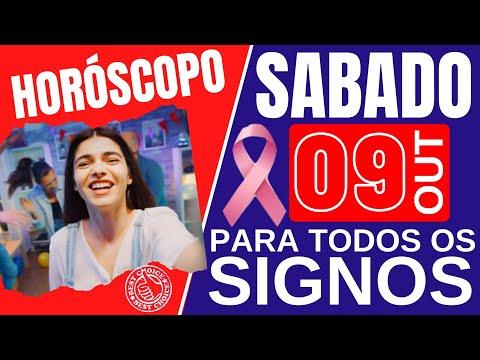 ♈ HORÓSCOPO DO DIA DE HOJE SÁBADO 09 DE OUTUBRO DE 2021 PREVISÃO PARA TODOS OS SIGNOS