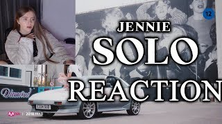 BLACKPINK JENNIE 'SOLO' MV REACTION