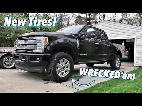 Will 35s Fit on a Stock Ford F250? and THEY RUINED MY WHEELS!