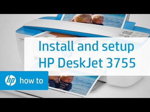 How To Set Up the HP DeskJet 3755 All-in-One Printer