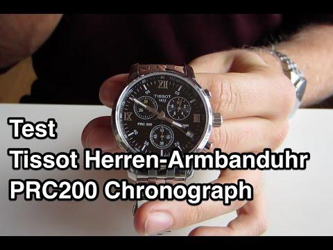 Test Tissot PRC200 Chronograph | Tissot PRC 200