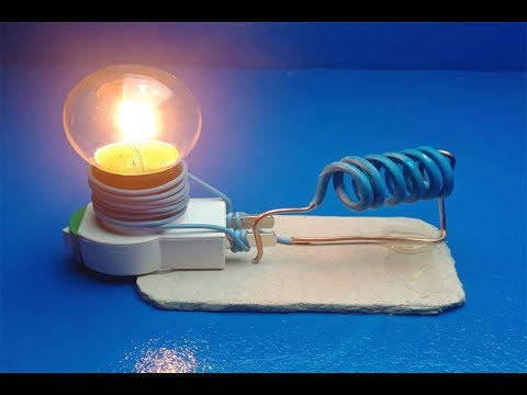 DIY Free Energy Generator Electricity With Light Bulb Using  New Device – creativity