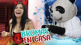 HICE UNA GUERRA DE BROMAS POR 24 HORAS a mi MEJOR AMIGO PANDA ¡Muy divertido!