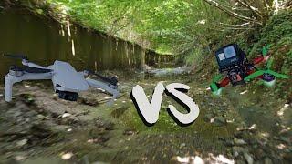 CINEMATIC vs FPV! - (Dji vs Fpv)