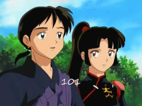 Miroku & Sango in love - смотреть онлайн на Hah Life