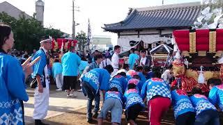 住吉神社(八木) 八木 布団太鼓 小太鼓