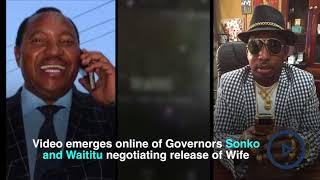 Waititu's wife arrested in Nairobi - VIDEO