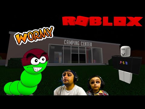 Roblox Wormy Chapter 1- We Escaped 3 Times Watch How [Tubersfunfam Gaming]