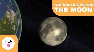 The Moon, the Earth's Satellite - Solar System 3D Animation for Kids