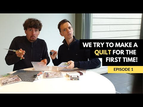 Mark And Richard's Quilt For Mom - Episode 1