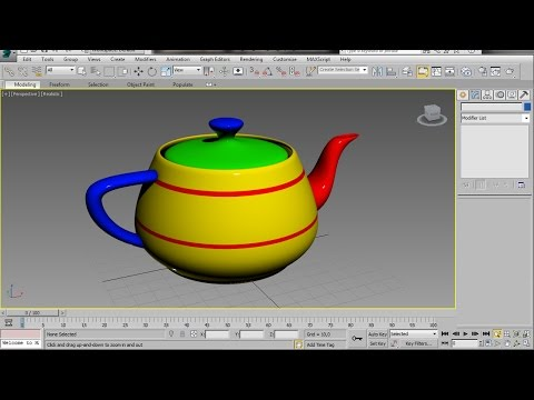 intro to multisub object materials 3ds max video tutorial