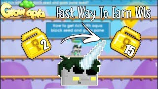 2 WLS To 15 WLS (Fast Farming For Beginners)💪 | Growtopia