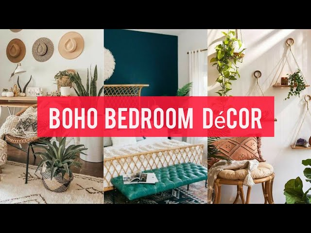 HOW TO DECORATE BOHO BEDROOMS || BOHEMIAN HOME DECOR 2020 ||