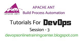 Apache ANT Tutorials for Beginners | ANT Build Process Automation 3