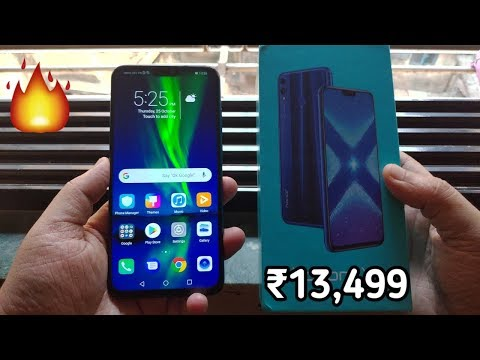Honor 8X Unboxing & Hand On Review,Camera,Price,Specs [Hindi]
