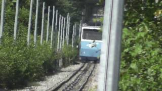 preview picture of video 'Funiculaire Cossonay Gare -Ville (1/2)'