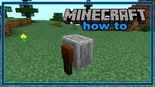 How to Craft and Use a Grindstone in Minecraft